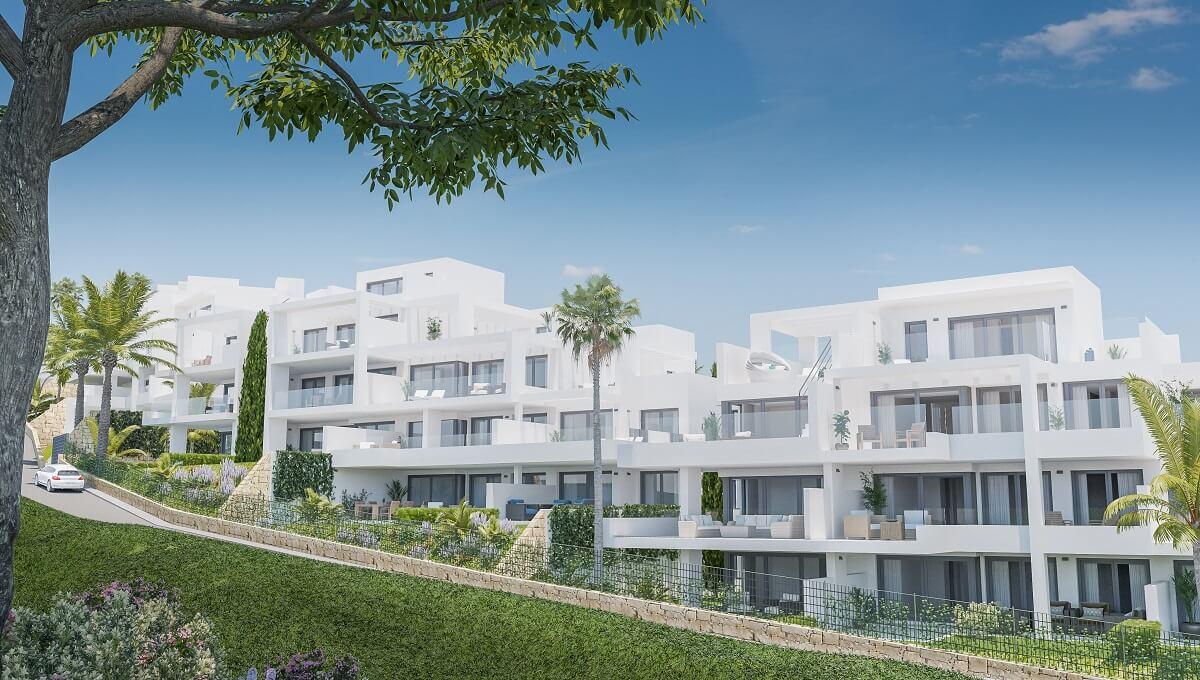 Astonishing Three Bedroom Apartments In El Mirador De Estepona