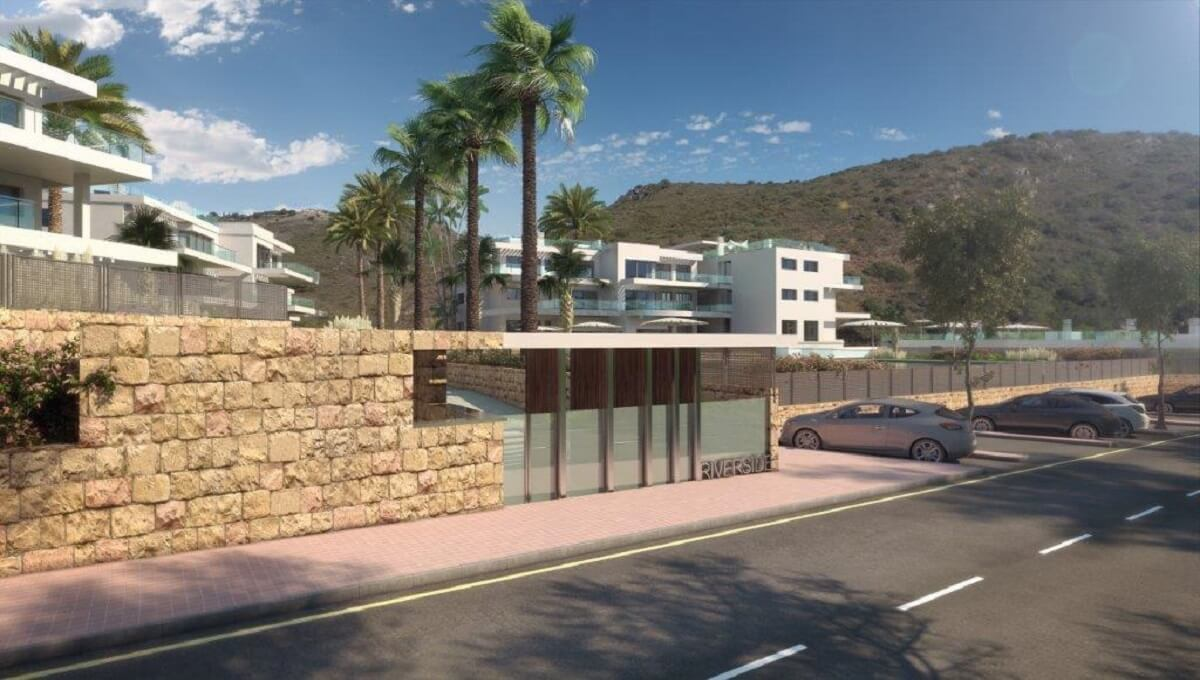 Apartments with stunning views in Riverside Benahavis Contemporary development composed of only 75 l,Spain