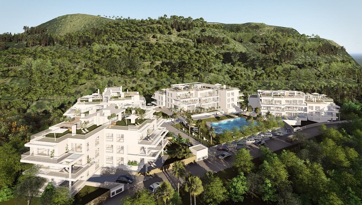 Fabulous off plan apartments in Riverside Benahavis Stunning development composed of only 75 luxurio, Spain