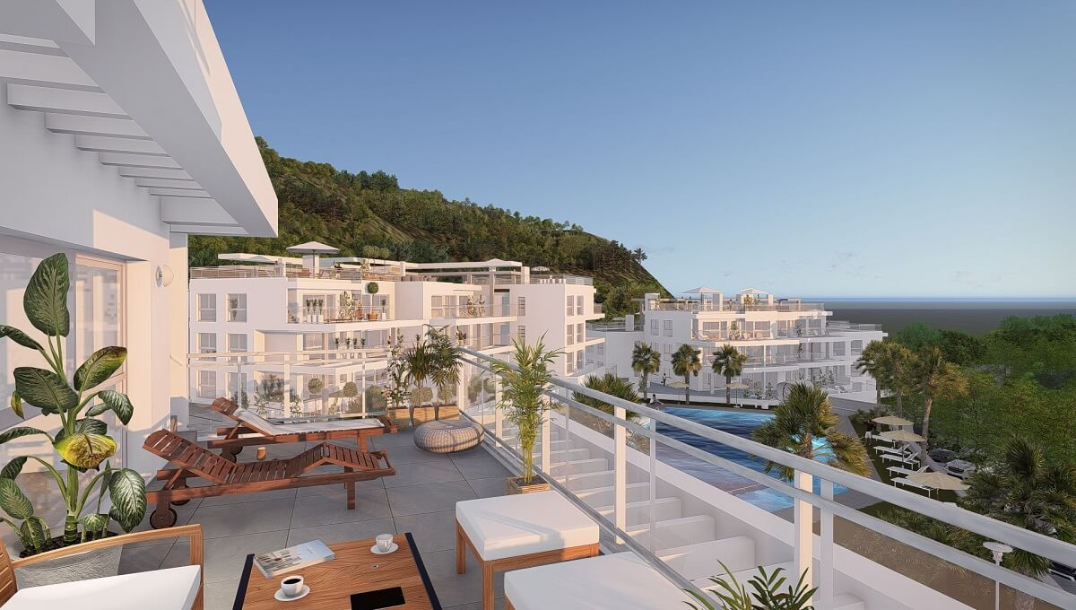 Off Plan Contemporary Style Penthouses for Sale in Riverside Benahavis Stunning development composed,Spain
