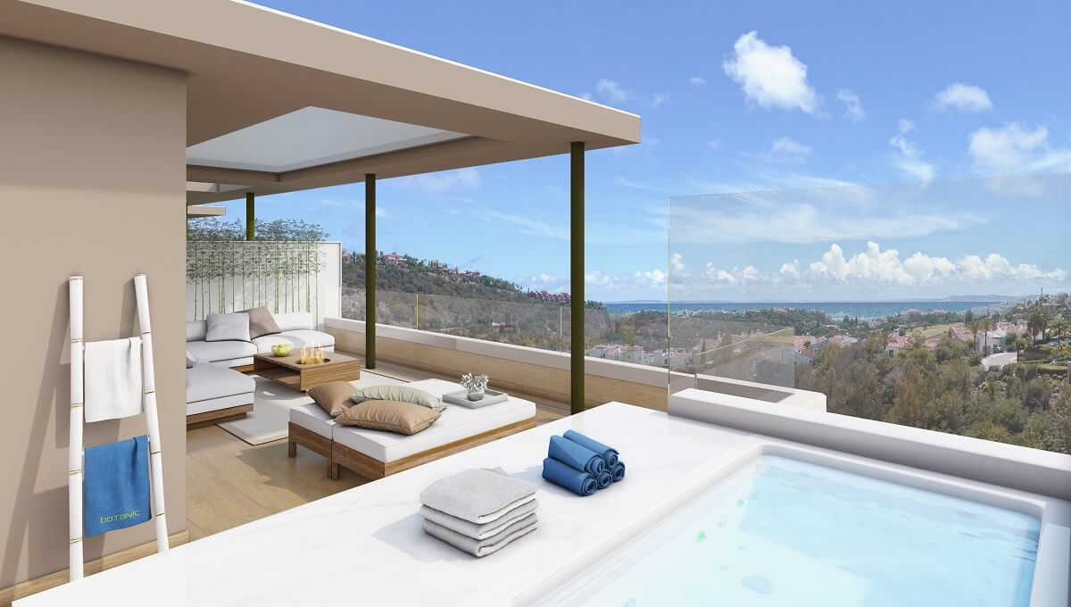 Impressive duplex penthouse with panoramic views in Botanic Benahavis Botanic is an exclusive reside, Spain