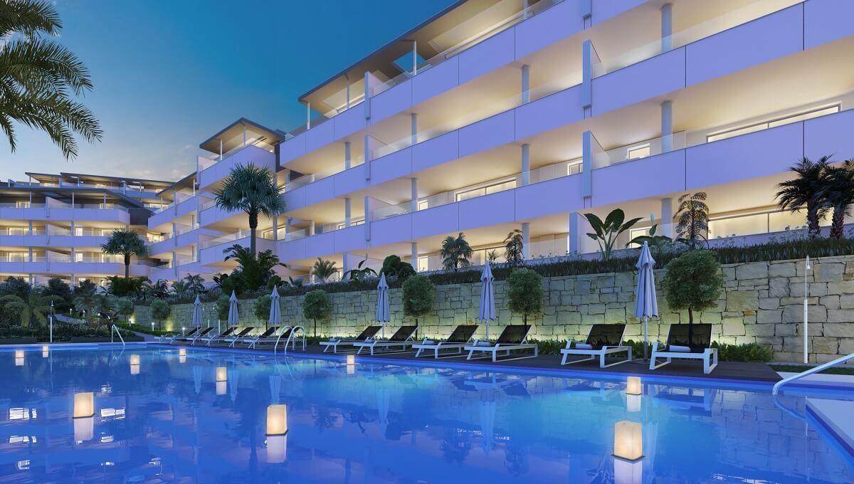 Contemporary apartments in Botanic Benahavis Botanic is an exclusive residential development compris,Spain