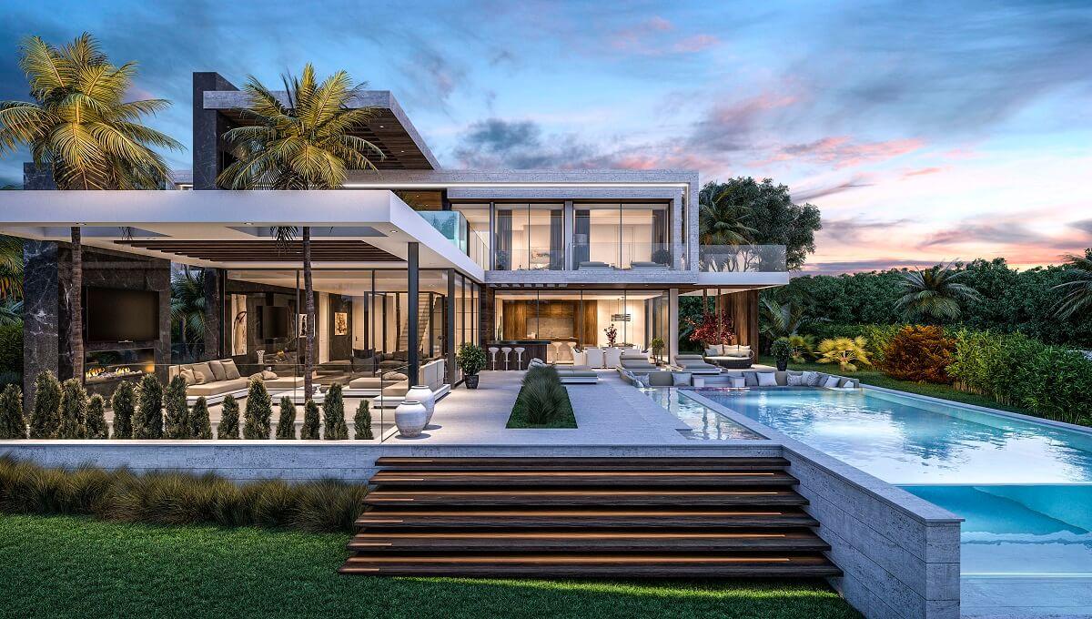 Villa spectre es una villa moderna y opulenta en los for Villa moderna