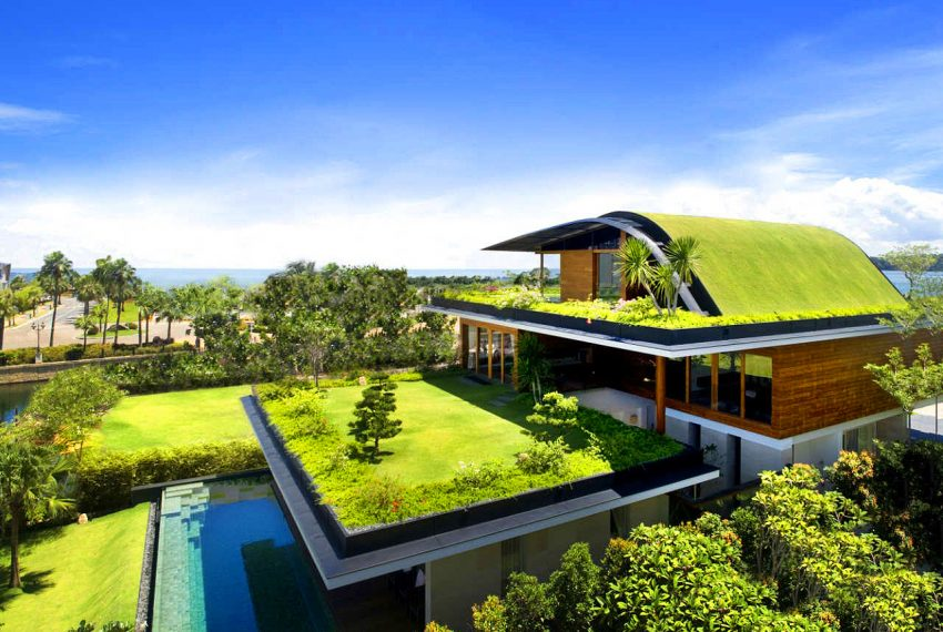 Eco-Friendly sustainable home